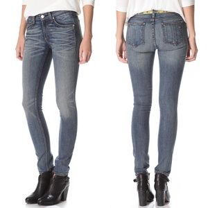 Rag & Bone Skinny Jeans Monument Size 28